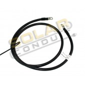 BATTERY/INVERTER CABLE, #2, 5FT, BLK