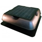 SOLAR ATTIC FAN, 22 WATT ADJUSTABLE PV MODULE, 1300 CFM, SOLAR ROYAL, P/N SR1800