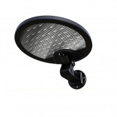Solar LED Outdoor Wall Disk Light - 500 Lumens, Bright White Light, Motion Sensor, SOL Power