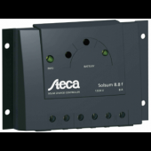 STECA SOLAR CHARGE CONTROLLER - 8 AMP, 12/24 VDC, W/ LEDS, P/N SOLSUM 8.8F
