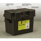 BATTERY BOX WITH STRAP - GROUP U1, QUICKCABLE, P/N 120170-001
